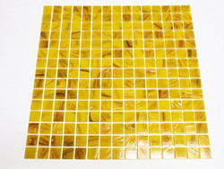 Ochre gold-copper GB92 , Sheet, 32.7x32.7 cm