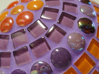 Minipärlor, Berry Satin, 50 g