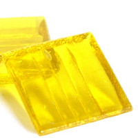Yellow, 25 tiles, translucent