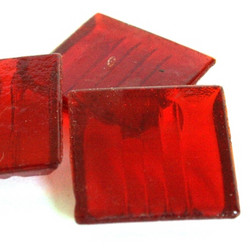 Red, 25 tiles, translucent
