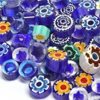 Millefiori, Blue Tones, 20 g