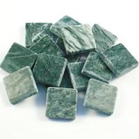 Marmor, 10 mm, Verde Jade, 100 g
