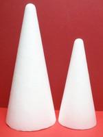 Styrofoam-cone, 21 cm
