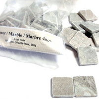 Marble, 20 mm, Azul Gris, 100 g