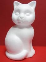 Styrox kissa, korkeus 24 cm