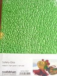 Safety-Glas, Pastel Green