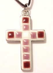 Pendant base, cross, big