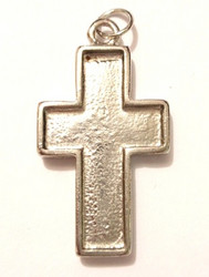 Pendant base, cross, little