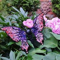 Mosaic Butterfly, Pink-Purple, DIY