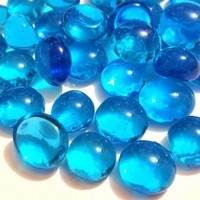 Mini Nuggets, Light Blue, 100 g, transparent