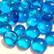 Mini Nuggets, Light Blue, 100 g, transparent