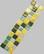 Liliput, Green Mix, 5x5 mm, 10 g