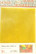Tiffanylasi 15x20 cm, Lemon, läpikuultava