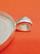 Riipuspohja, 40x30 mm, ovaali, väri hopea