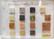 Värikartta, Mosaikstein, Marmori, paksuus 4 mm