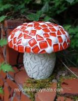 Styrofoam mushroom, 13 cm