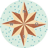 Kompass, 80 cm