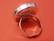 Sormuspohja, pyöreä, 25 mm, väri hopea