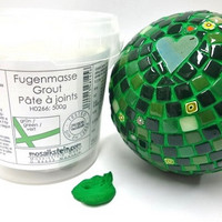 Grout, Green 500 g, Mosaikstein