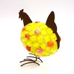 Easter chick, yellow, DIY