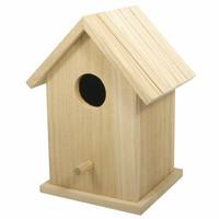Birdhouse, 17 cm, two parts