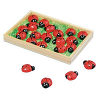 Ladybirds, 18 pcs