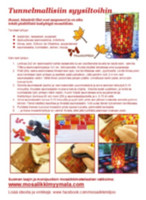 Mosaic lantern, instruction