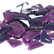 Soft Glass, Purple Pansy 500 g