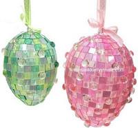 Akryl Mosaik, Pink, 50 g