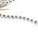 Decorative chain, silver, 1 m