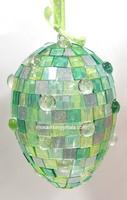 Akryylimosaiikki, Glitter Silver, 50 g