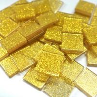 Akryylimosaiikki, Glitter Gold, 50 g