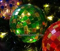 Akryylimosaiikki, Glitter Green, 50 g