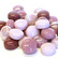 Mini Gems, Pink-Lilac, 200 g, app. 135 pcs
