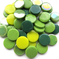 Penny Gems, Green Mix, 50 g