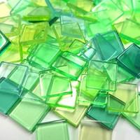 Akryl Mosaik, Lime, 50 g