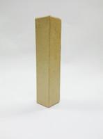 Papier-mâché letter, 15x3x3 cm, I