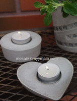 Tea-candle-holder for lanterns, 4 cm