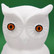 Owl Eyes, 2 pcs, 17mm, Plastic Material