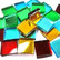 Peilimosaiikki, Multicolor Mix, 1x1 cm, 125 g