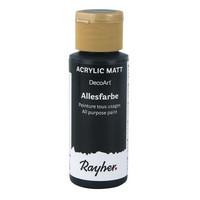 Akrylfärg, Black, 59 ml