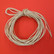 Leather cord, 5 m, light brown