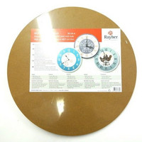 MDF Plate with hole, 30 cm