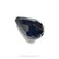 Glass Polished bead Drop, black