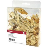 Deco-metal flakes gold, 1 g