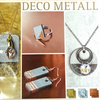 Deco-metal set, 6 ark