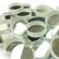 Peilimosaiikki, Hopea, pyöreä, 12 mm, 500 g