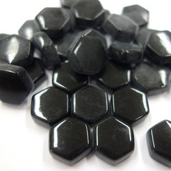 Hexagon, Black, 100g