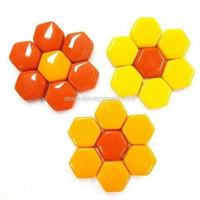 Hexagon, Röd, 100 g