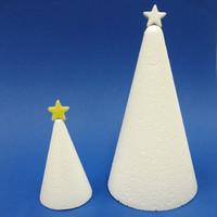 Ceramic Stars, White, 20 g